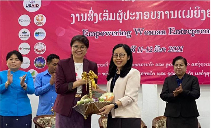 Company speaks at the latest Lao National Chamber of Commerce and Industry's seminar