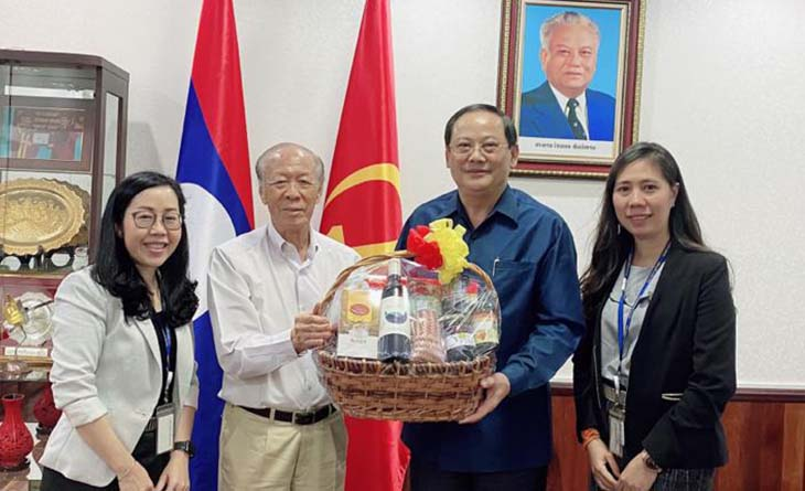 Phu Bia Mining Chairman meets the Deputy Prime Minister of Laos