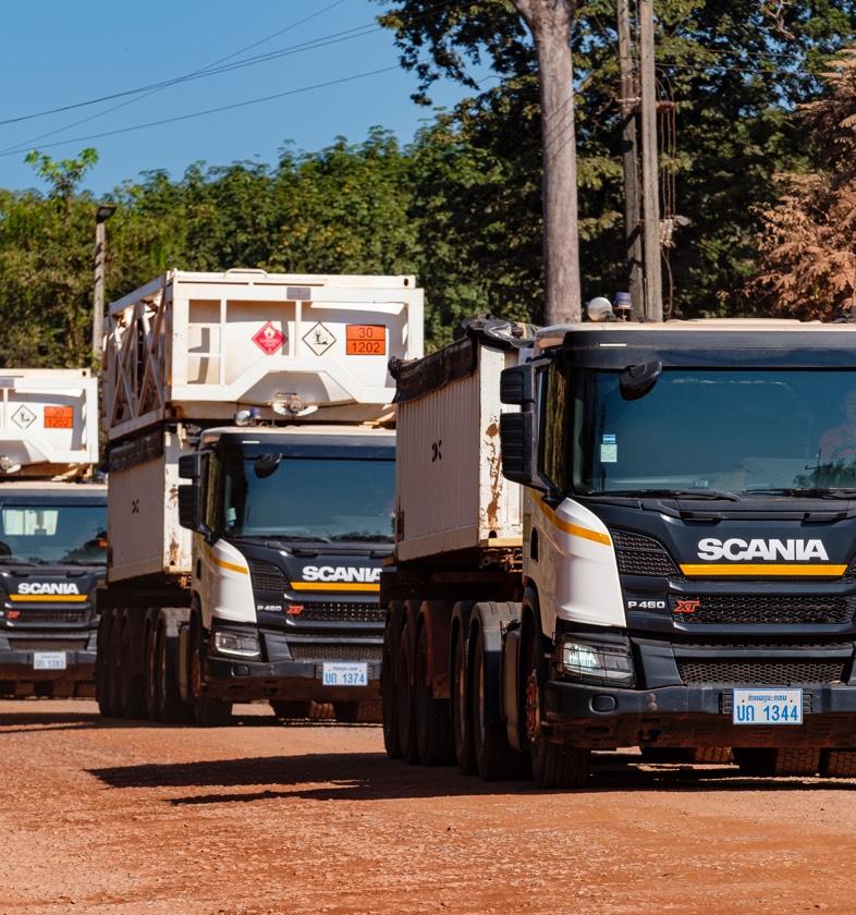 Phu Bia Mining Logistics