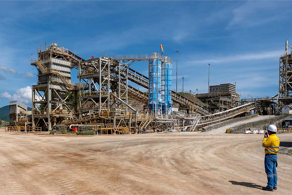 Process plant at Ban Houayxai
