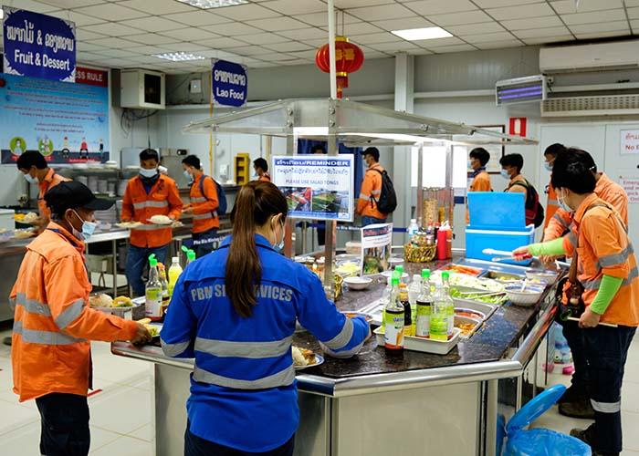 Ban Houayxai dry (dining) mess