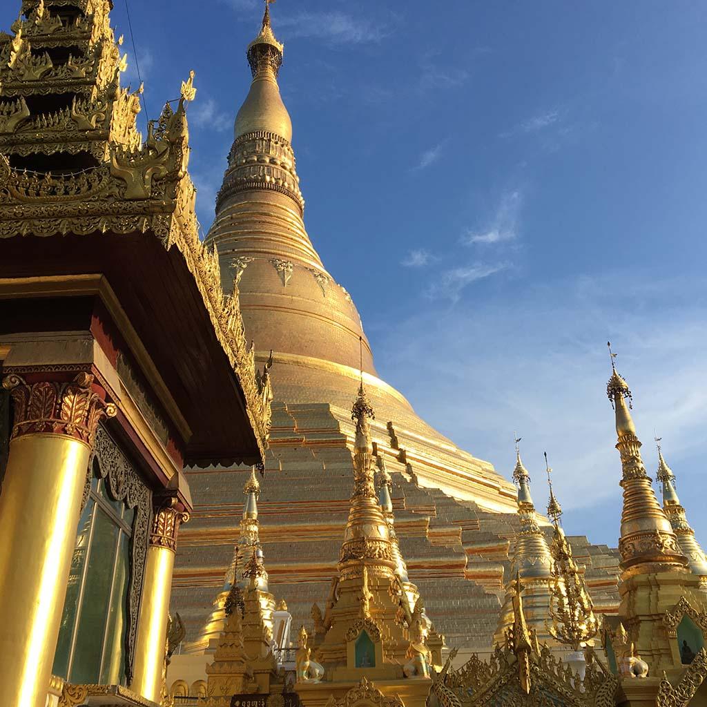 A temple in Myanmar