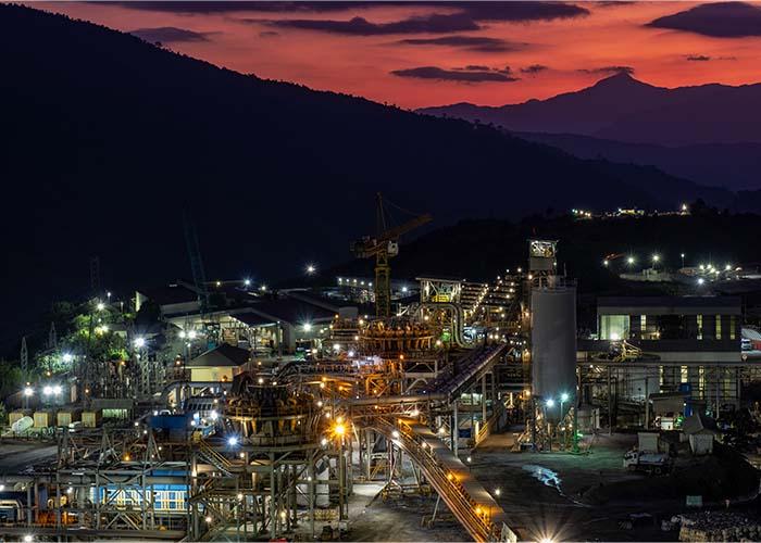 The Phu Kham Operation process plant